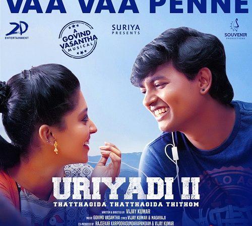 Uriyadi 2 (2019) [Original Mp3] Govind Vasantha